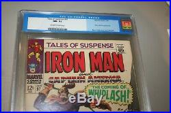 TALES OF SUSPENSE #97 CGC 9.2-OW TO W-1st APP. OF WHIPLASH-OLD LABEL