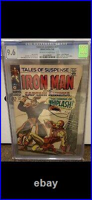 TALES OF SUSPENSE #97 CGC 9.6 1st App Whiplash! Off white To White Pages