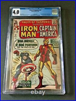 TALES OF SUSPENSE featuring IRON MAN and CAPTAIN AMERICA MARVEL COMICS # 59