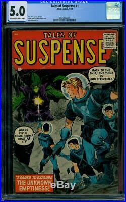 Tales Of Suspense #1 1959 Certified 5.0 Space Adventure
