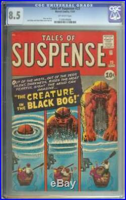 Tales Of Suspense #23 Cgc 8.5 Ow Pages