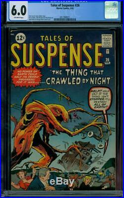 Tales Of Suspense #26 1962 Certified 6.0 Classic Ditko/kirby