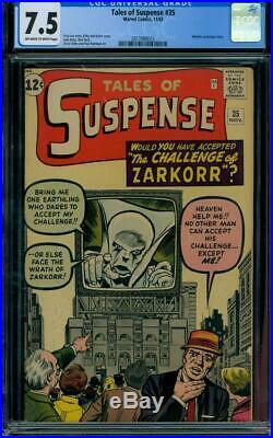Tales Of Suspense #35 1962 Certified 7.5 Classic Cover