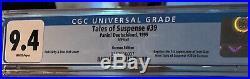 Tales Of Suspense #39 1st Ironman Cgc9.4 Graded Copy