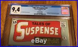Tales Of Suspense #39 1st Ironman Cgc9.4 Graded Copy Rare Variant