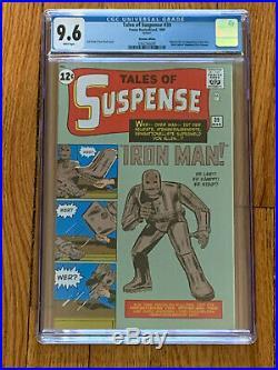 Tales Of Suspense #39 1st Ironman Cgc9.6 Graded Copy