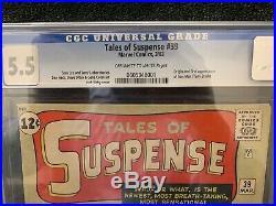 Tales Of Suspense 39 CGC