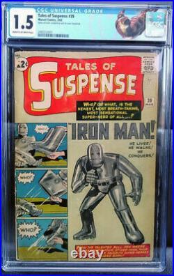 Tales Of Suspense 39 CGC 1.5