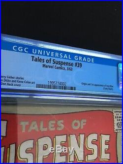 Tales Of Suspense 39 CGC 3.5 Cr To OW Pgs. 1st Iron Man Tony Stark No Reserve