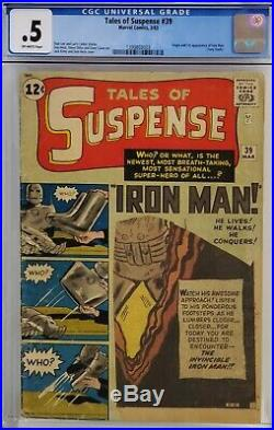 Tales Of Suspense #39 Cgc. 5 1st Tony Stark Iron Man Complete Affordable