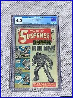 Tales Of Suspense 39, Cgc Rare Pence Varient