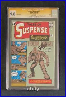 Tales Of Suspense #39 Cgc Ss 9.8 Stan Lee 1st App Iron Man Euro Variant Avengers