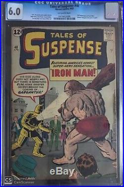 Tales Of Suspense 40 CGC 6.0 Looks Higher! OW Pages
