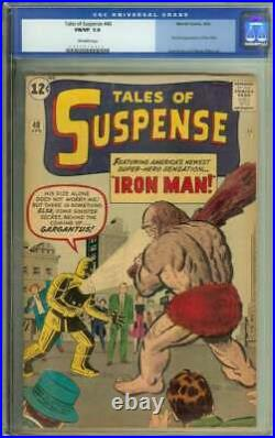 Tales Of Suspense #40 Cgc 7.0 Ow Pages // 2nd Appearance Of Iron Man