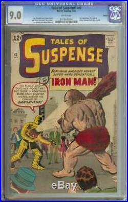 Tales Of Suspense #40 Cgc 9.0 White Pages