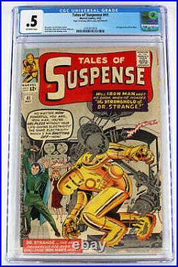 Tales Of Suspense #41 CGC. 5