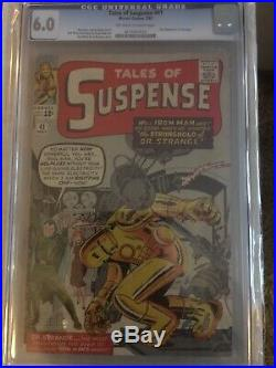 Tales Of Suspense #41 CGC 6.0 (1963) 3rd Appearance Of Iron Man