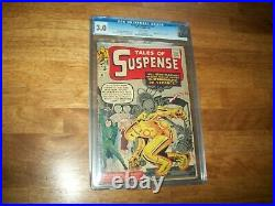 Tales Of Suspense #41 Cgc Graded 3.0 Third Appearance Of Iron Man