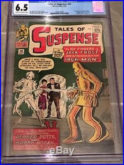 Tales Of Suspense #45 CGC 6.5 1st Happy Hogan, Pepper Potts, Early Iron Man