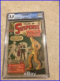Tales Of Suspense #45, Semi Key, Cgc 3.5 First Pepper Potts, Nice Book, 1963