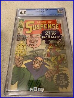 Tales Of Suspense 48 CGC 6.5 New Iron Man armor