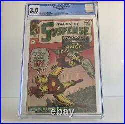 Tales Of Suspense #49 3.0 CGC Iron Man & X-Men Crossover