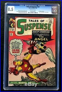 Tales Of Suspense #49 Cgc 8.5 1st X-men Crossover