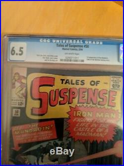Tales Of Suspense 50 1st Mandarin CGC 6.5