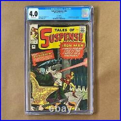 Tales Of Suspense #50 CGC 4.0 UK Edition Marvel Comic Book 1st App The Mandarin