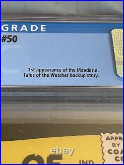 Tales Of Suspense #50 Cgc 6.0 1st App Of The Mandarin Shang-chi Mcu