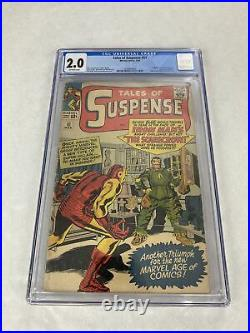 Tales Of Suspense #51 CGC 2.0 OWP! 1st Scarecrow! Marvel 1964