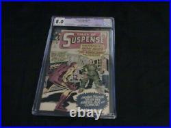 Tales Of Suspense #51 Cgc Grade 8.0