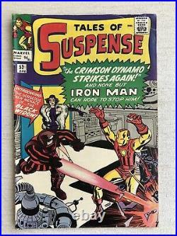 Tales Of Suspense #52 (1959) Fn Marvel 1st Appearance Black Widow
