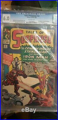 Tales Of Suspense #52 1st Appearance Of Black Widow (1959) Cgc Graded 6.0 Fn