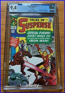 Tales Of Suspense #52 1st Black Widow Cgc9.4 Graded Copy