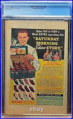 Tales Of Suspense #52 CGC 1.5 1964 Key Marvel Comic First 1st Black Widow MCU