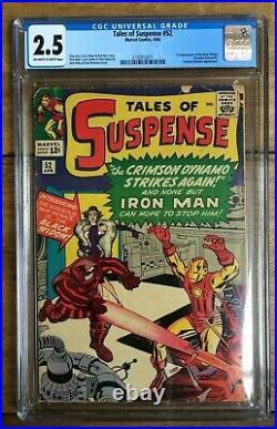 Tales Of Suspense #52 CGC 2.5 2132972011