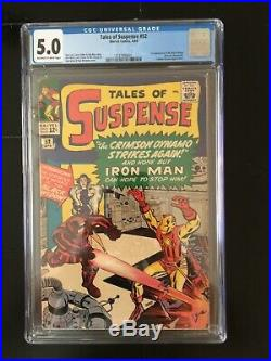 Tales Of Suspense 52 CGC 5.0 1st Appearance Of Black Widow OWithW Pages, Hot Key
