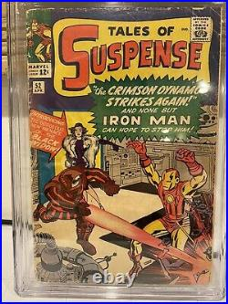 Tales Of Suspense 52 CGC Qualified 1st Appearance Of Black Widow Good Movie