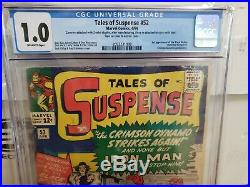 Tales Of Suspense #52 Cgc 1.0, 1st Black Widow! Hot Book, In Affordable Grade