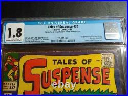 Tales Of Suspense #52 Cgc 1.8(looks Like 3.0!) 1st Black Widow Mcu