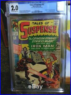 Tales Of Suspense 52 Cgc 2.0 First Appearance Of Black Widow Movie Soon