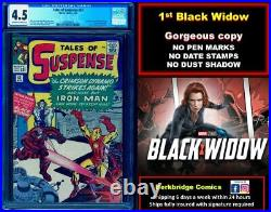 Tales Of Suspense 52 Cgc 4.5 Nicer Than 5.5 Close Up Pics Movie May 7