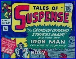 Tales Of Suspense #52 Cgc 4.5 Nicer Than 5.5 See Close Up Pictures