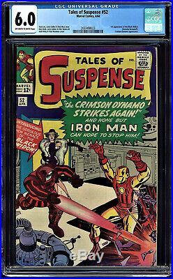 Tales Of Suspense #52 Cgc 6.0 1st App Of The Black Widow! Cgc #2037498023