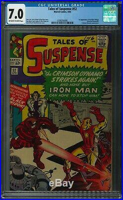 Tales Of Suspense 52 Cgc 7.0 First Appearance Of The Black Widow