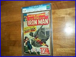 Tales Of Suspense #53 May 1964 Cgc Graded 7.0 With White Pages And A Mint Case