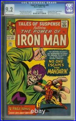 Tales Of Suspense #55 Cgc 9.2 White Pages // Jack Kirby + Dick Ayers Iron Man
