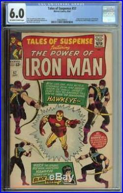 Tales Of Suspense #57 CGC 6.0 Origin & 1st App Hawkeye Clint Barton