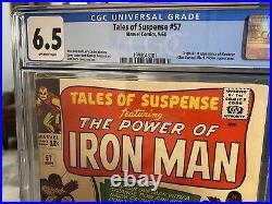Tales Of Suspense #57 CGC 6.5. 1st Hawkeye